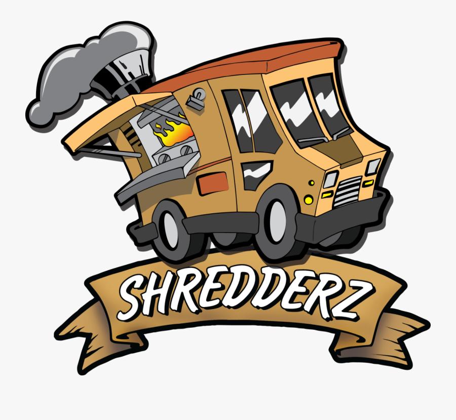 Shredderz Food Truck - Cartoon Logo For Taco Truck, Transparent Clipart
