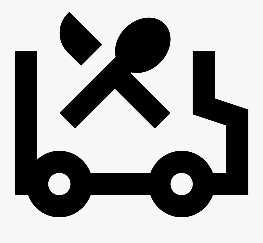 Food Truck Icon - Food Truck Icon White, Transparent Clipart