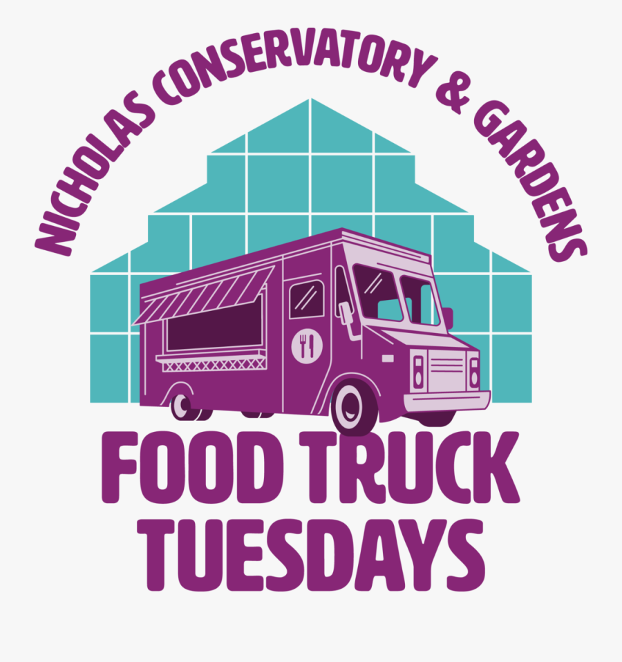 Ncg Food Truck Tues Logo-c - Commercial Vehicle, Transparent Clipart