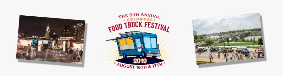 Columbus Food Truck Festival - Commercial Vehicle, Transparent Clipart