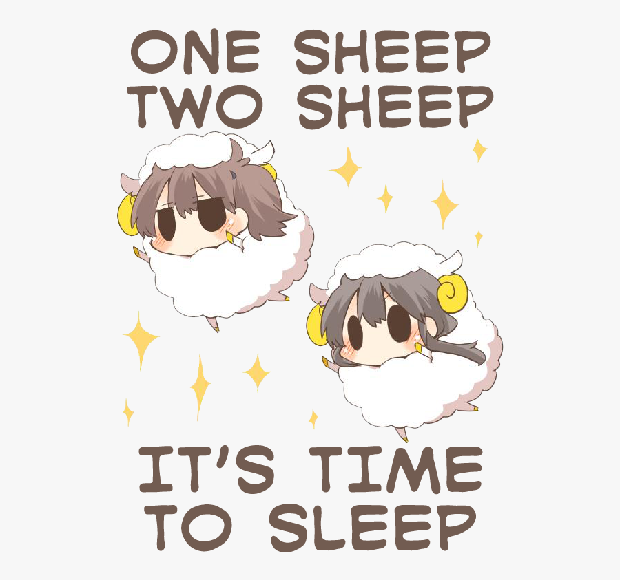 "One Sheep Two Sheep It""s Time To Sleep It Mammal Text - One Sheep Two Sheep It's Time To Sleep, Transparent Clipart"
