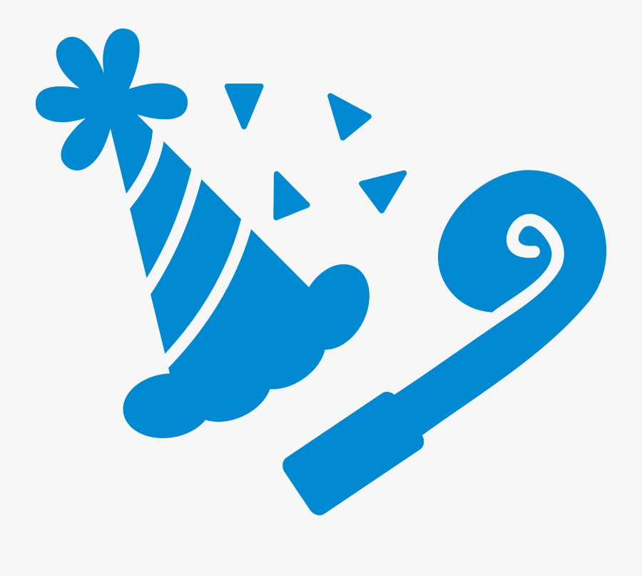 Party Favors Png - Blue Birthday Decor Png, Transparent Clipart