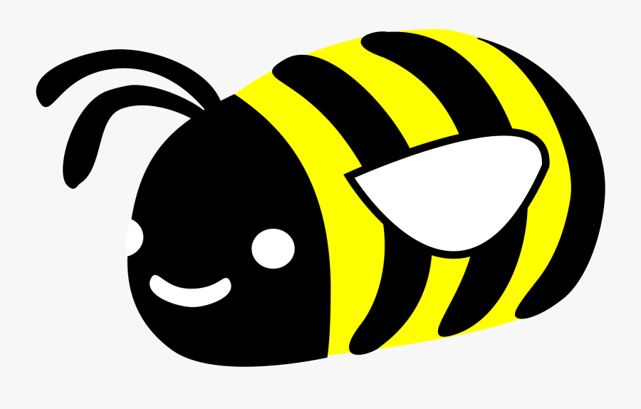 Cute Bumble Bee - Cute Bee Transparent, Transparent Clipart