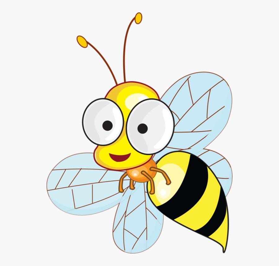 Transparent Honey Bee Png - วาด รูป การ์ตูน ผึ้ง, Transparent Clipart
