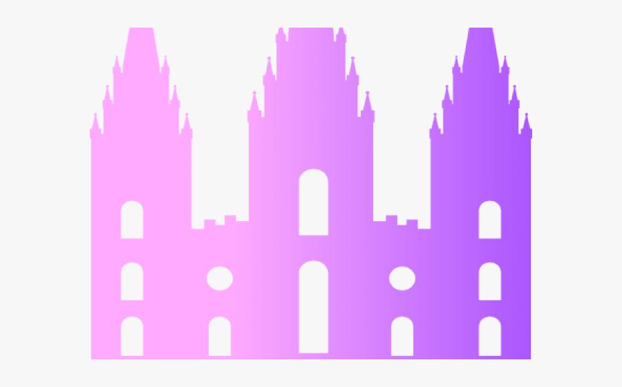 Salt Lake Temple Line Clipart , Png Download - Free Lds Salt Lake Temple Silhouette, Transparent Clipart