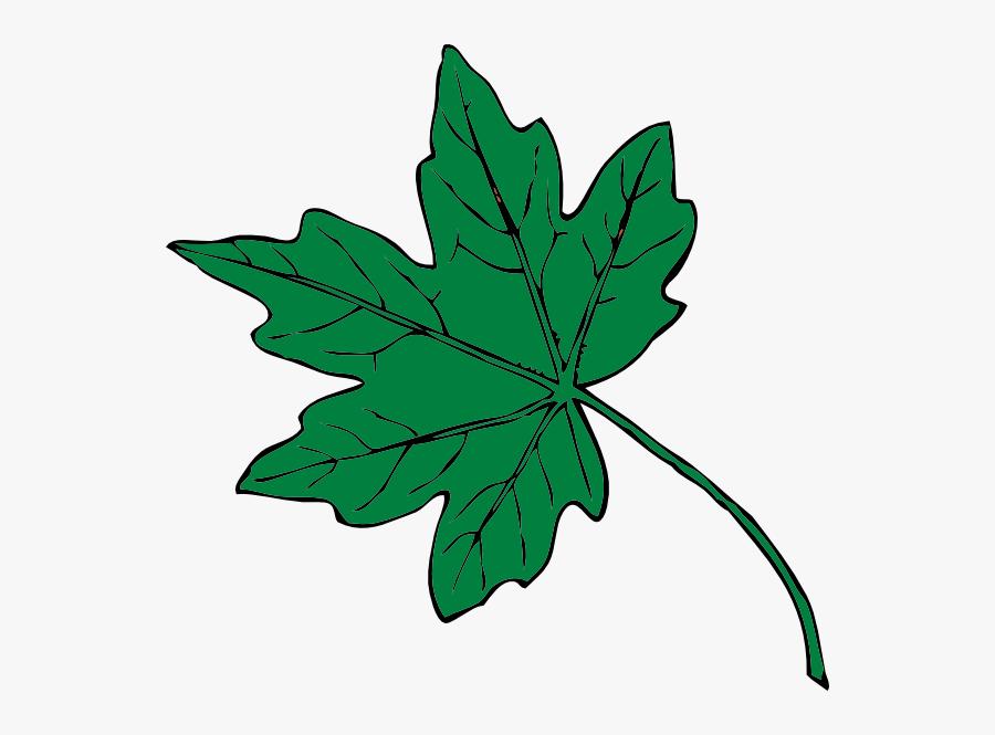Green Leaves Clip Art, Transparent Clipart