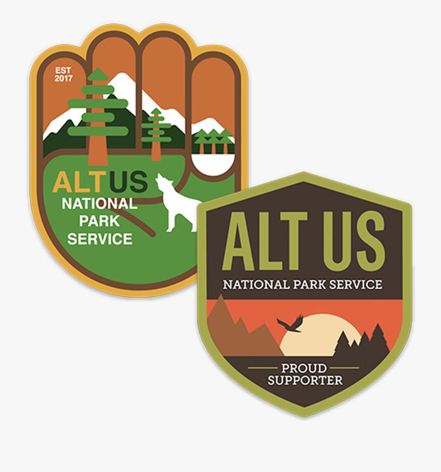 National Park Service Logo Current - Alt National Park Service, Transparent Clipart