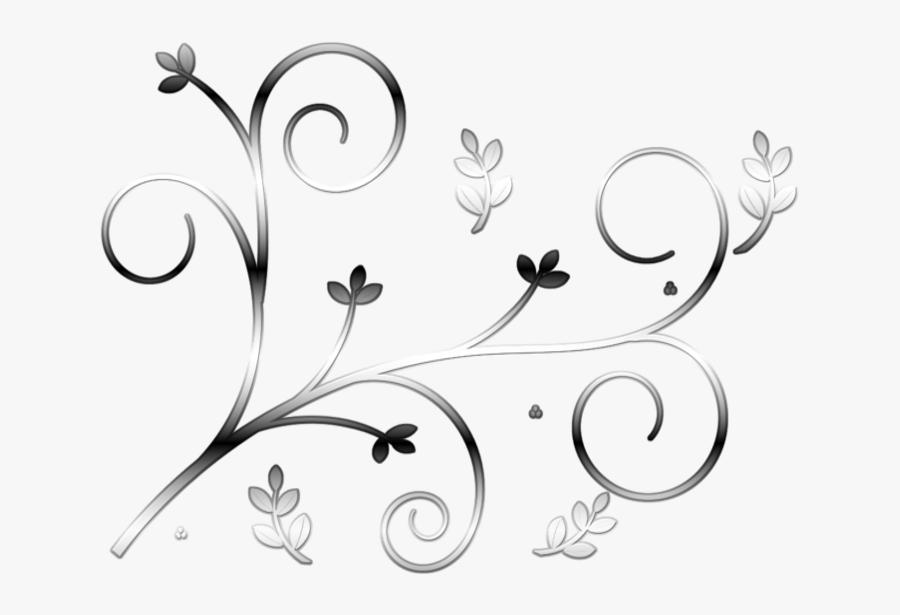 Scroll Sticker Design 1 Art Nouveau Filigree Curly - Line Art, Transparent Clipart