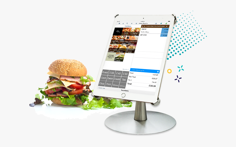 And After A Long Day At A Festival Or Event In A Hot - Pos Cash System Food, Transparent Clipart