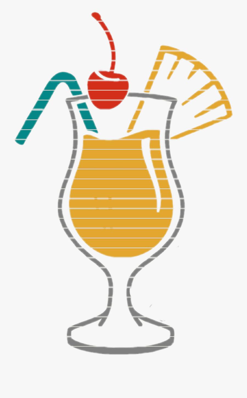 #mystickersedits #mystickersremix #summer #beach #drinks - Pina Colada Funny Quotes, Transparent Clipart