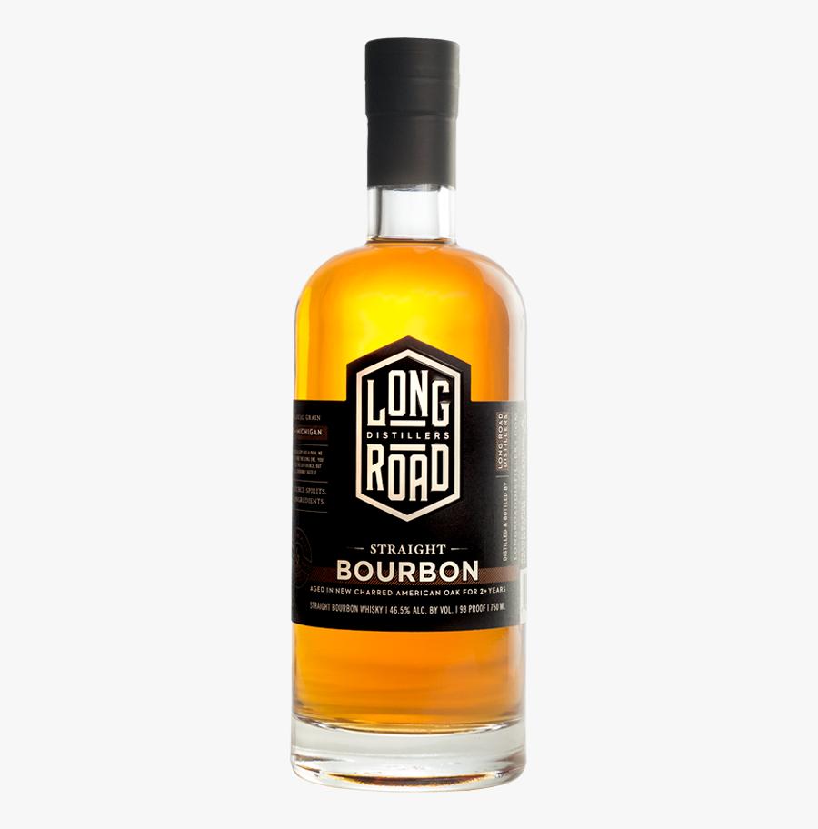 Straight Bourbon Long Road Distillers - Bombardino, Transparent Clipart