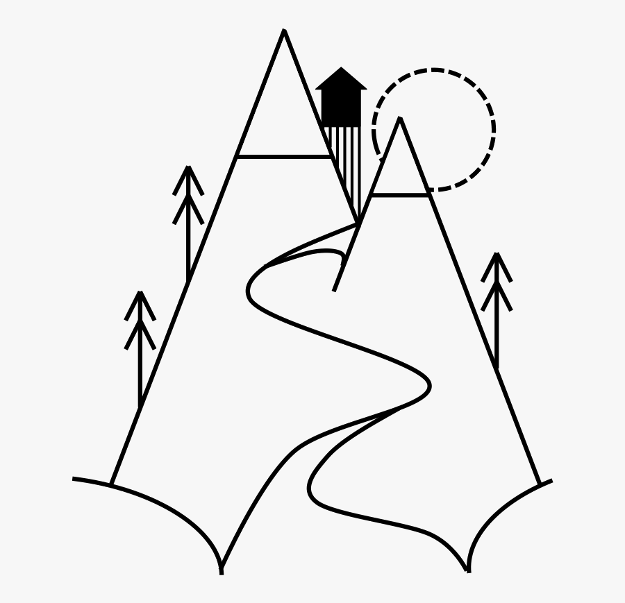 Mountain Drawing Png - Clip Art Drawing Mountain, Transparent Clipart