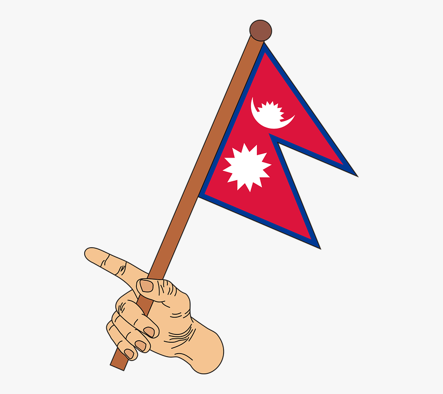 Musical Instrument,clip Art,sign,triangle - Nepal Flag Clip Art, Transparent Clipart