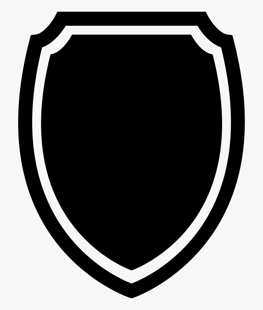 Clip And White,graphics,oval - Shield Shape Free Download, Transparent Clipart