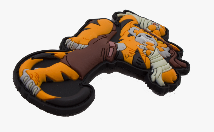 Image Of Muay Thai Fighting Tony Tiger Patch - Illustration, Transparent Clipart