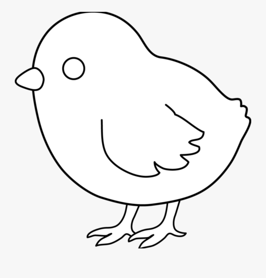 Pencil Hatenylo Com Cute - Clip Art Of Easter Chick Black And White, Transparent Clipart