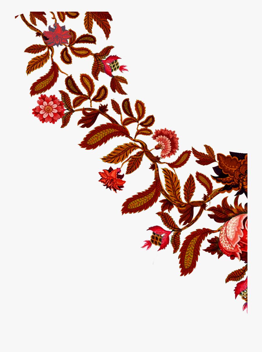 Vector Flower Design Vector Art Flower Textile Flower - Illustration, Transparent Clipart