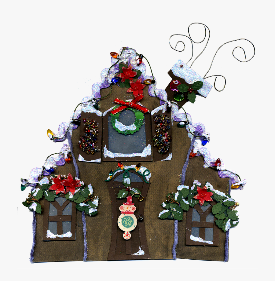 Eridoodle Free Digital Download Christmas Gingerbread - Gingerbread House, Transparent Clipart