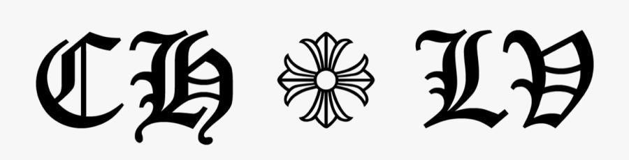 Louis Vuitton X Chrome Hearts - Emblem, Transparent Clipart