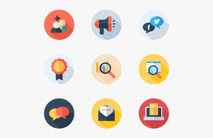 Navigation Premium Icons Svg - Digital Marketing Icons Png, Transparent Clipart