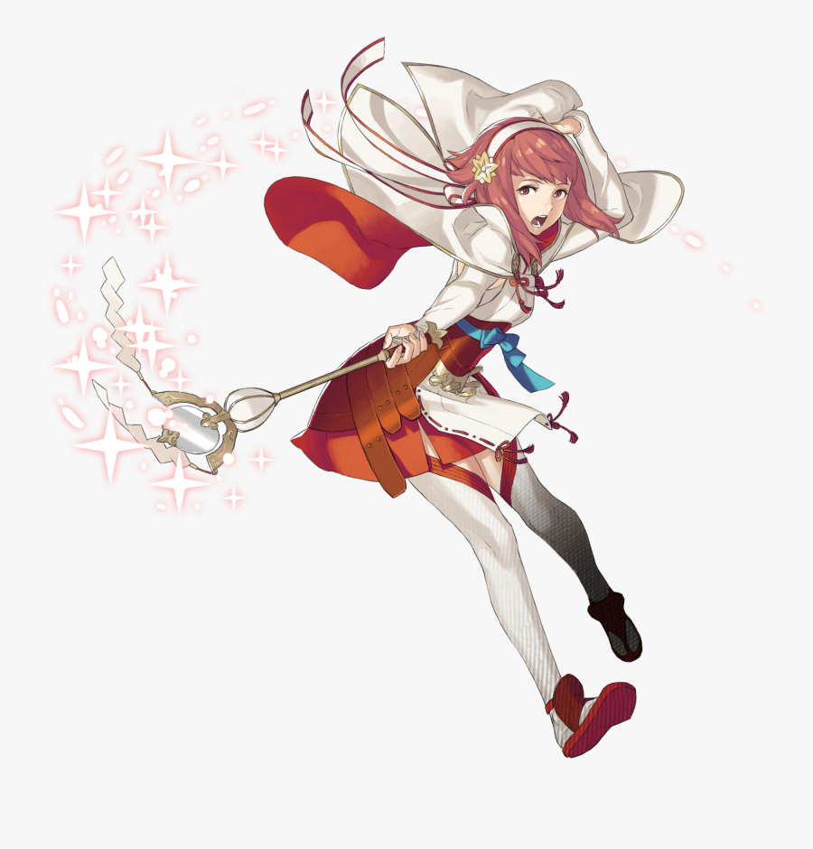 Drawn Princess Fire - Fire Emblem Fates Sakura, Transparent Clipart