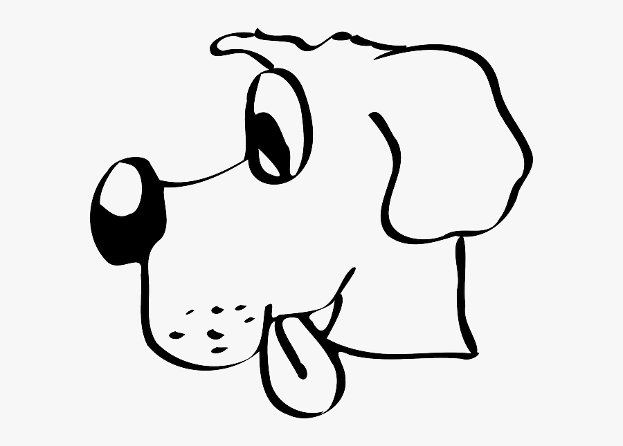 With Dog, Out, Tongue, Stuck, With - Drawing Winn Dixie Dog, Transparent Clipart