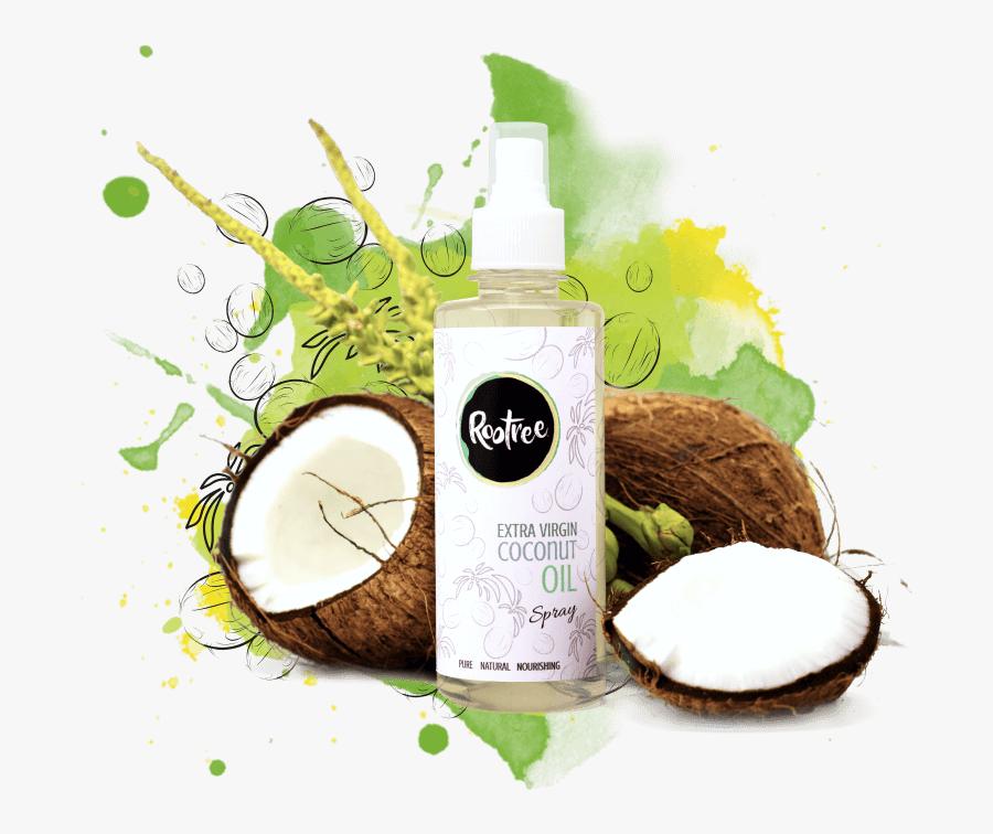 Transparent Coconut Oil Clipart - Cosmetics, Transparent Clipart