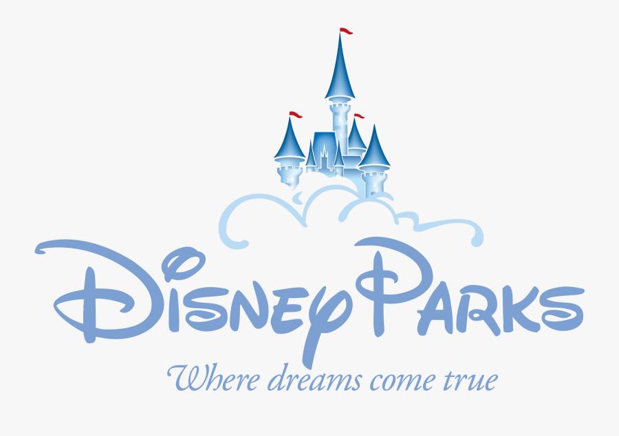 Clip Art Black And White Library Parks Announces New - Disney Parks Logo Transparent, Transparent Clipart