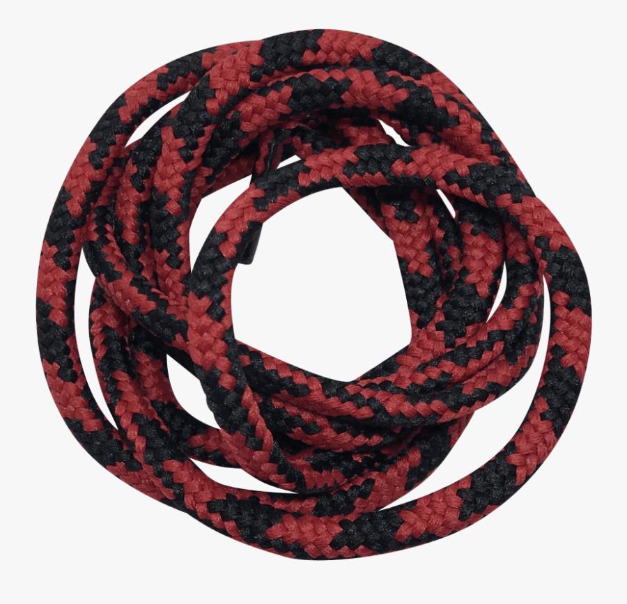 Heavy Duty - Röd Svarta Sko Snöre, Transparent Clipart