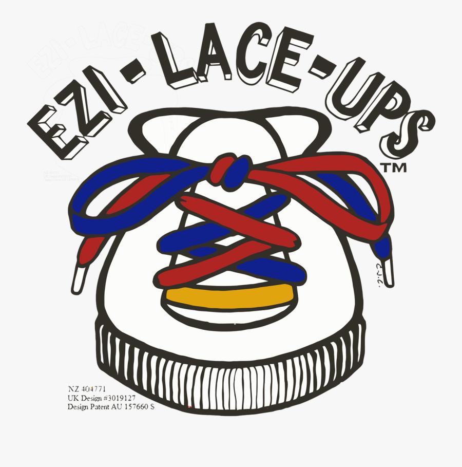 Ezi Lace Ups™ Logo, Transparent Clipart