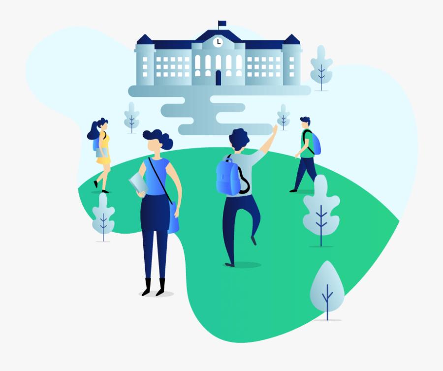 Campus Management, Transparent Clipart