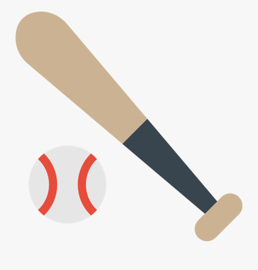 Sports Transparent Free For - Baseball Bat Icon Png, Transparent Clipart