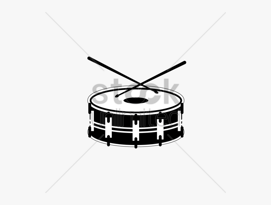 Drum Illustration Transparent Png - Marching Percussion, Transparent Clipart