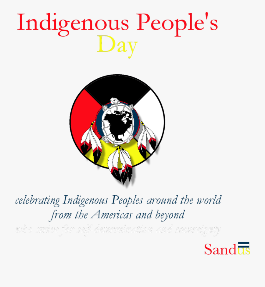 One Of The Many Logos Used For Indigenous Peoples& - Indigenous Peoples Day 2017, Transparent Clipart