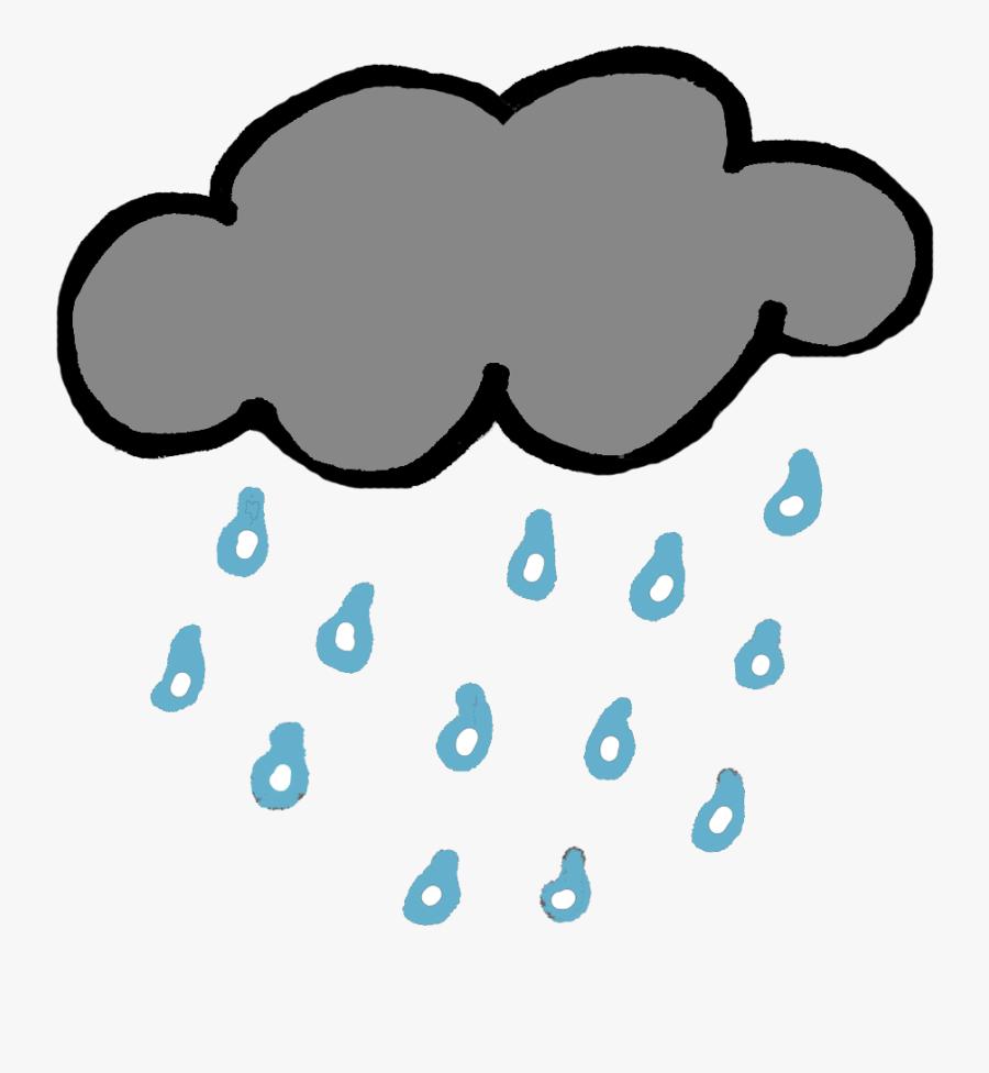 Rain Clip Art Free Clipart Images Transparent Png - Clip Art Rain Cloud, Transparent Clipart