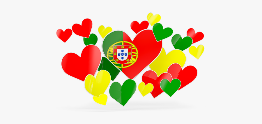 Flying Heart Stickers - Pakistan Flag Heart Png, Transparent Clipart