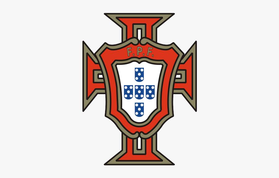 Football Team Vector Just - Portugal National Football Team Logo, Transparent Clipart