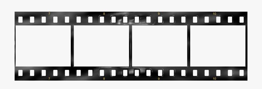 Transparent Film Roll Png - Film Strip Template Png, Transparent Clipart