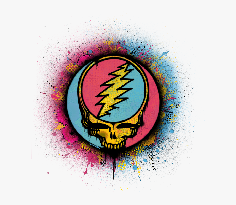 Grateful Dead Png - Steal Your Face Art, Transparent Clipart