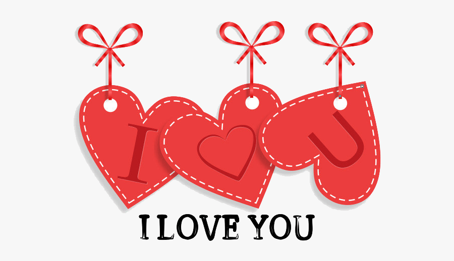 Feeling The Love - Heart, Transparent Clipart
