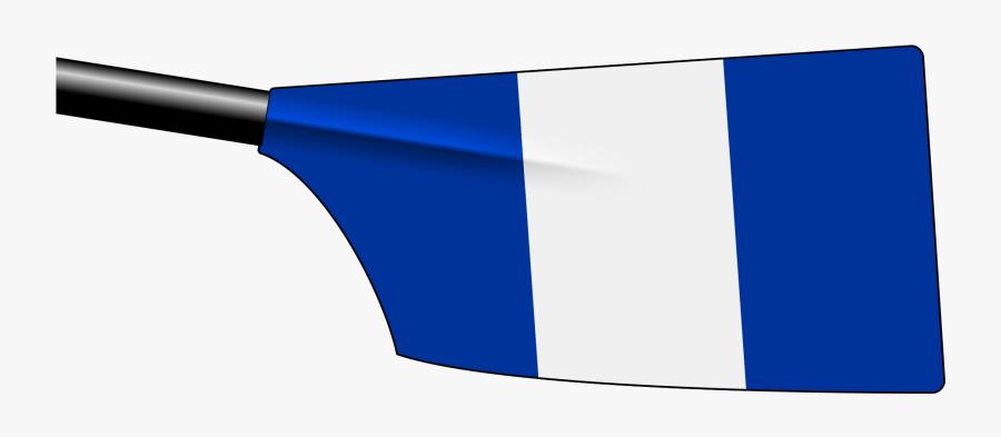 University Barge Club Oars, Transparent Clipart