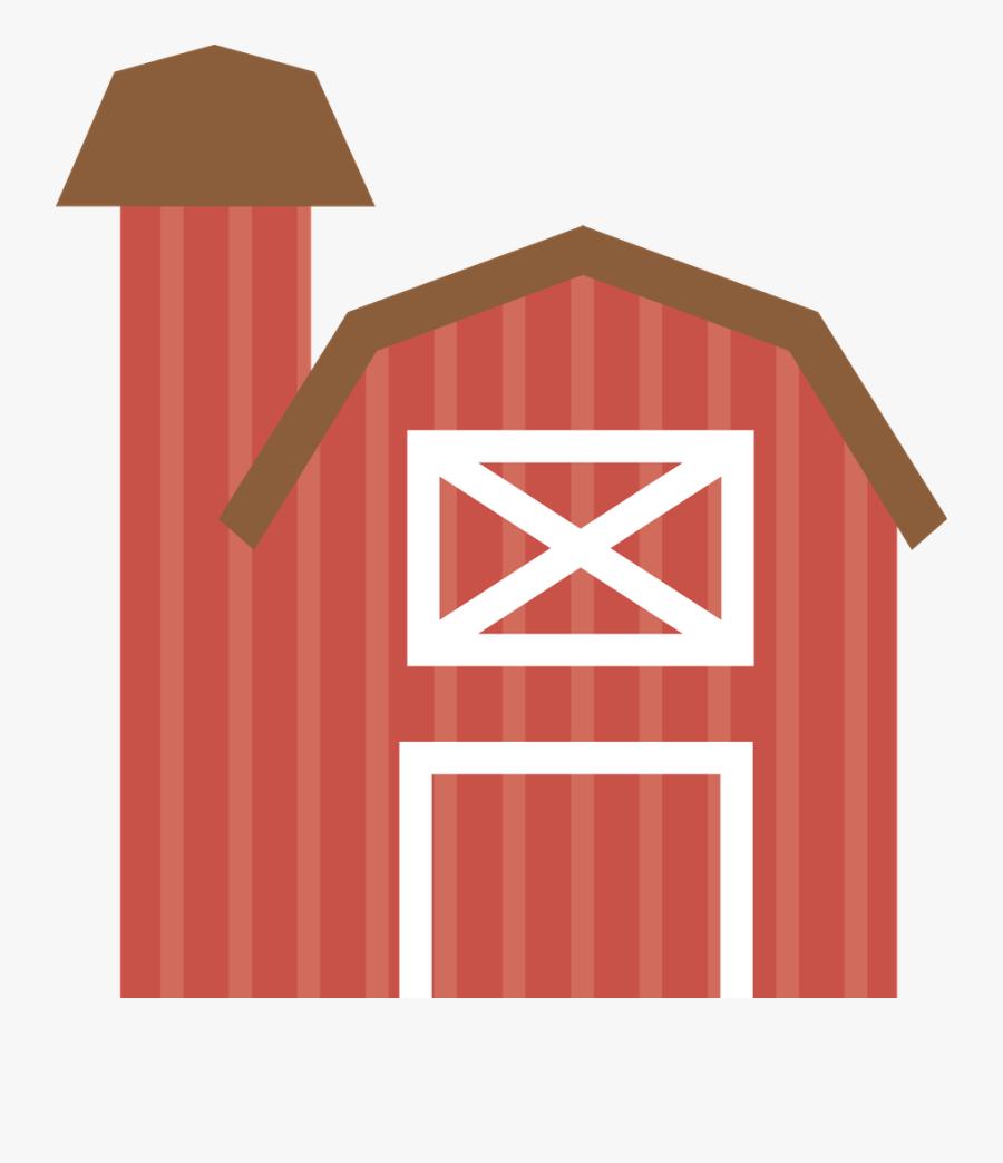 Farmhouse Drawing At Getdrawings - Farm Animal Wall Border, Transparent Clipart