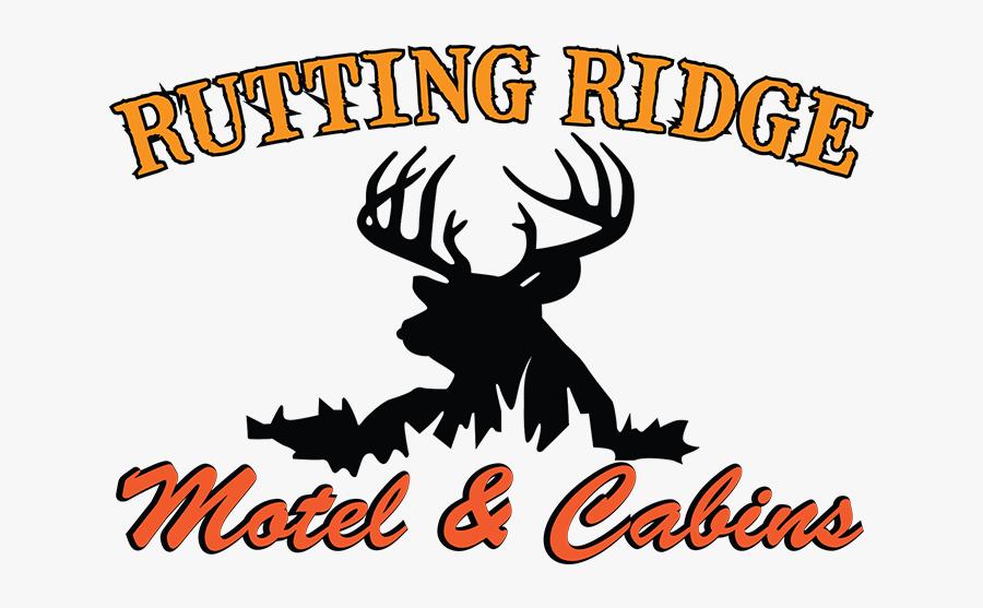 Rutting Ridge Motel & Cabins - Deer Decals, Transparent Clipart