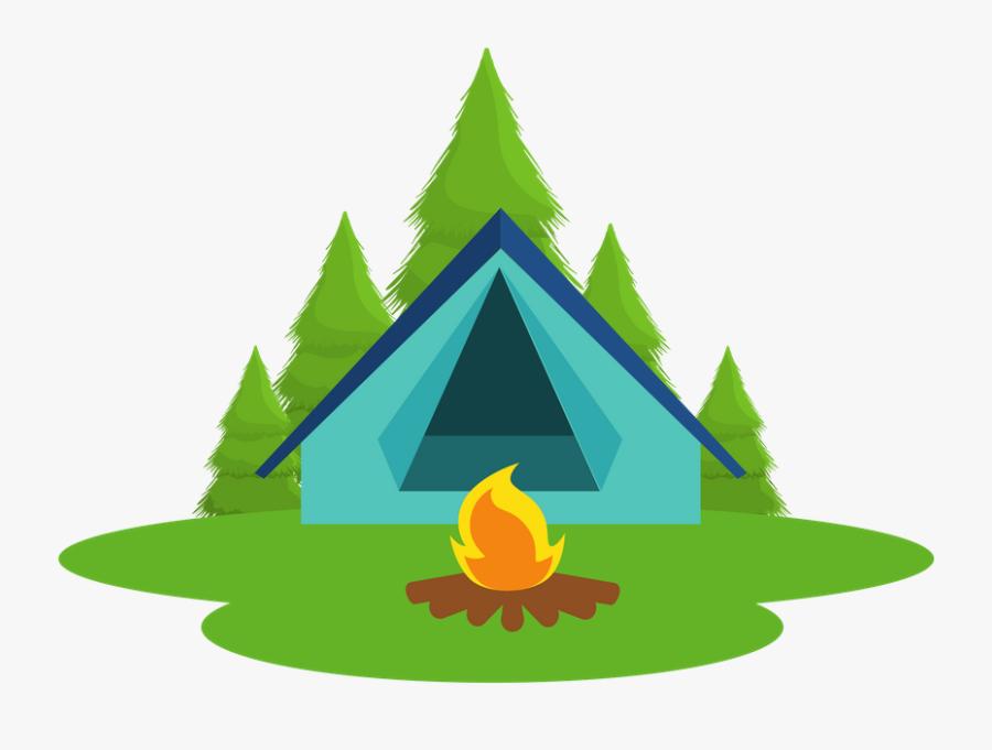 Pilates Summer Camp Is A Mix Of Mat And Reformer Classes - Summer Camp Tent Clip Art, Transparent Clipart