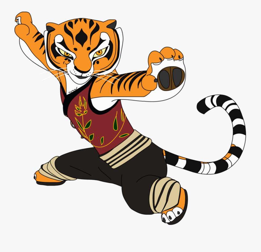 Tigress - Tigress Kung Fu Panda Png, Transparent Clipart