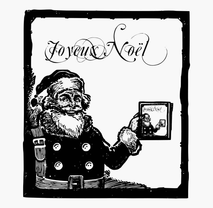 Happy Santa - Christmas Day, Transparent Clipart
