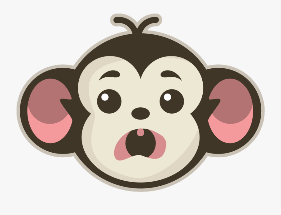 Monkey Adobe Illustrator, Transparent Clipart