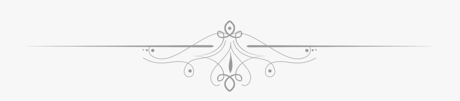White Divider Png Transparent, Transparent Clipart