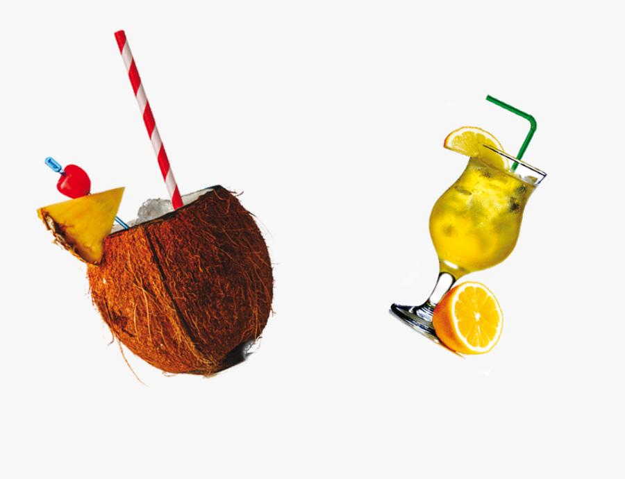 Orange Juice Apple Juice Coconut Milk Drink - Meyer Lemon, Transparent Clipart