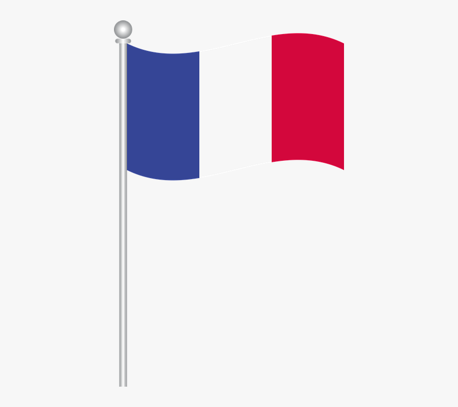 Flag Of France, World Flags, Flags Of World, Country - Flag Of France Clipart, Transparent Clipart